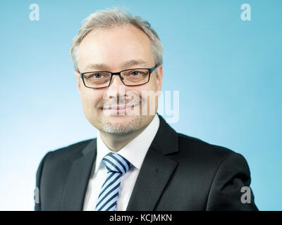 Marc Bernhard, member of the AfD parliamentary group in the 19th legislative period of the Bundestag (federal parliament), - Stock Photo