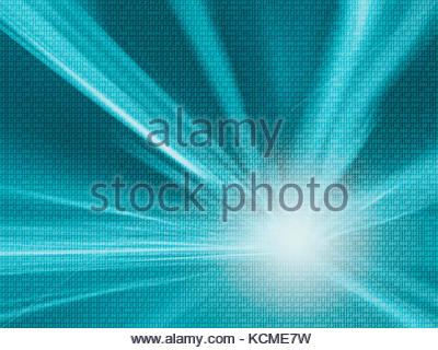 Binary numbers travel information on abstract blurred background. Background with binary data and motion blurred - Stock Photo