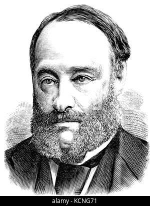 JAMES PRESCOTT JOULE (1818-1889) English mathematician and physicist - Stock Photo