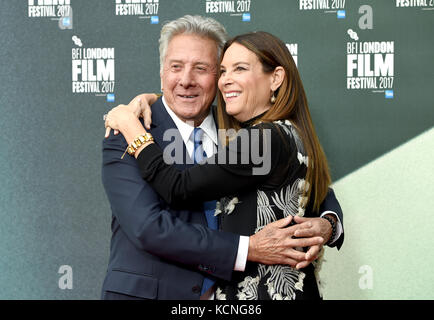 Photo Must Be Credited ©Alpha Press 079965 06/10/2017 Dustin Hoffman and Wife Lisa The Meyerowitz Stories Screening - Stock Photo