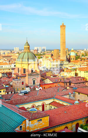 View of Bologna in Italy - Stock Photo