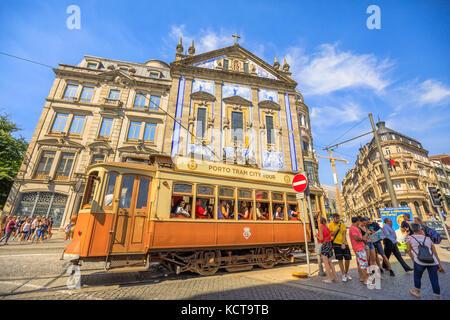 Porto Tram City Tour - Stock Photo