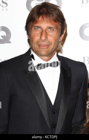 GQ Men of the Year Awards at Tate Modern, London  Featuring: Antonio Conte Where: London, United Kingdom When: 05 - Stock Photo
