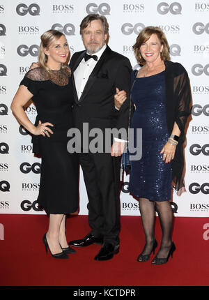 GQ Men of the Year Awards at Tate Modern, London  Featuring: Mark Hamill Where: London, United Kingdom When: 05 - Stock Photo