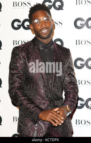 GQ Men of the Year Awards at Tate Modern, London  Featuring: Tinie Tempah Where: London, United Kingdom When: 05 - Stock Photo