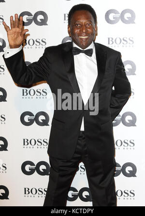GQ Men of the Year Awards at Tate Modern, London  Featuring: Pelé Where: London, United Kingdom When: 05 Sep 2017 - Stock Photo