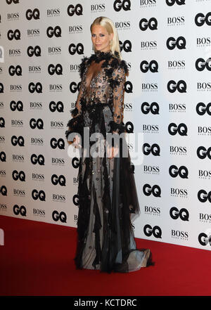 GQ Men of the Year Awards at Tate Modern, London  Featuring: Poppy Delevingne Where: London, United Kingdom When: - Stock Photo