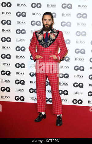 GQ Men of the Year Awards at Tate Modern, London  Featuring: Jared Leto Where: London, United Kingdom When: 05 Sep - Stock Photo