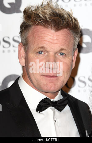 GQ Men of the Year Awards at Tate Modern, London  Featuring: Gordon Ramsay Where: London, United Kingdom When: 05 - Stock Photo