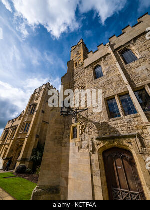 Grammar Hall, St Johns Quad, Magdalen College, University of Oxford, Oxford, Oxfordshire, England - Stock Photo