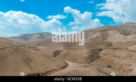 Desert hills near Dead sea - Stock Photo