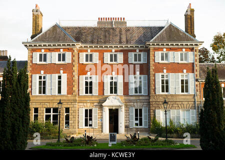 The front facade face of York House, Twickenham, London. UK. (90) - Stock Photo