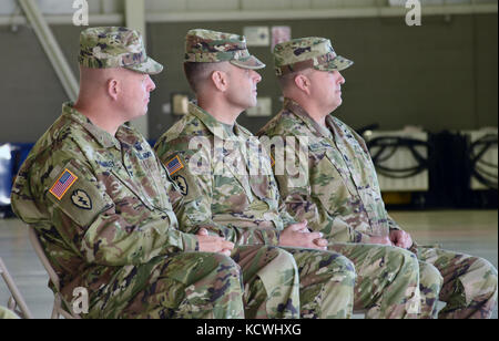 The South Carolina Army National Guard, 1-151st Attack Reconnaissance Battalion conducted a change of command ceremony - Stock Photo