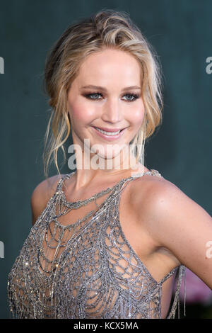 Mother Premiere Arrivals London. Britain  Featuring: Jennifer Lawrence Where: Windsor, United Kingdom When: 06 Sep - Stock Photo