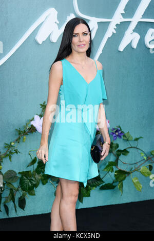 Mother Premiere Arrivals London. Britain  Featuring: Linzi Stoppard Where: Windsor, United Kingdom When: 06 Sep - Stock Photo