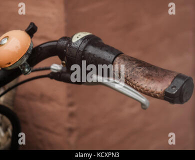 Wet bike bell - Stock Photo