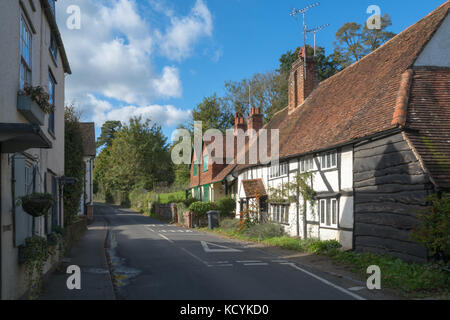 The pretty village of Shere in Surrey, UK - Stock Photo