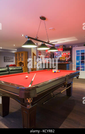 Country style billiard room Stock Photo: 239631753 - Alamy on country home office design, country home garden design, country home living room design, country home kitchen design,