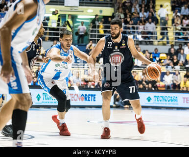 Turin, Italy. 07th Oct, 2017. Antonio Iannuzzi Turin, Italy 7th october 2017. Serie A an Basketball match Fiat Torino - Stock Photo