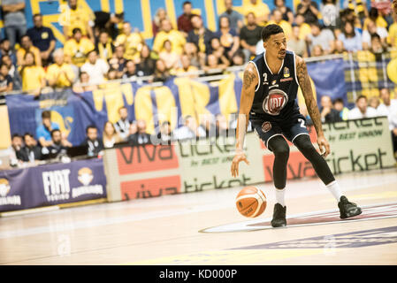 Turin, Italy. 07th Oct, 2017. Turin, Italy 7th october 2017. Diante Garret during the Serie A an Basketball match - Stock Photo