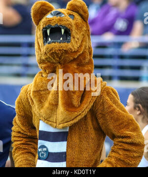 Saturday October 7th - The Penn State mascot on the sidelines during NCAA football game action between the Penn - Stock Photo