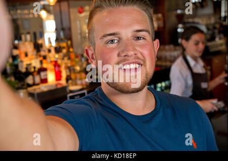 Ben Phillips, prankster, youtuber, social media celebrity - Stock Photo