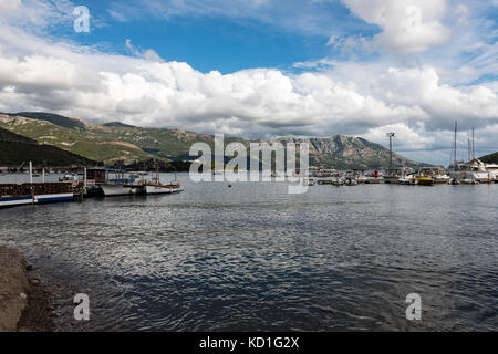 Budva Coastline, Budva, Montenegro - Stock Photo