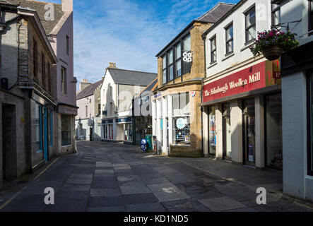 Albert Street, Kirkwall, Orkney Mainland, Scotland, UK. - Stock Photo