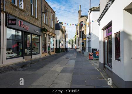 Albert Street, Kirkwall, Orkney Mainland, Scotland, UK. - Stock Photo
