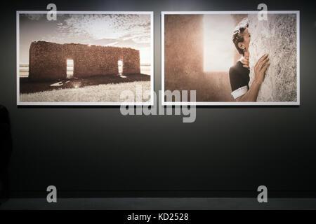 Tracey Moffatt - photographs from the series 'Body Remembers', My Horizon exhibition | Australian Pavilion, 57th - Stock Photo