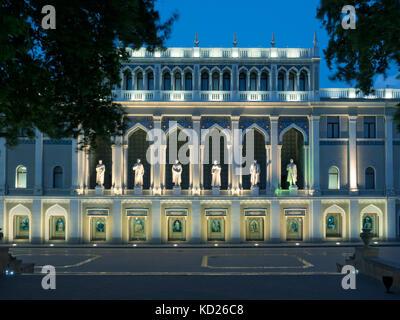 Nizami Museum of Azerbaijani Literature, Baku, Azerbaijan - Stock Photo