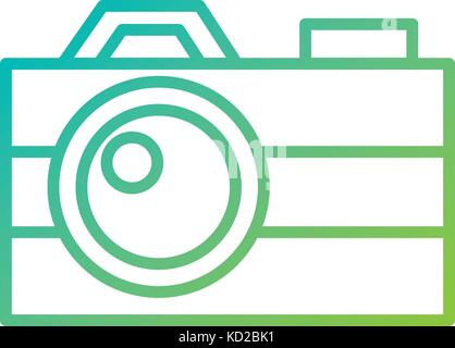 photographic camera flash button lens social media - Stock Photo