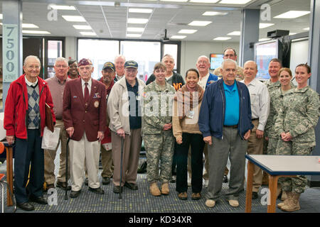 Veterans, including some from the South Carolina National Guard, who have served throughout the world during our - Stock Photo