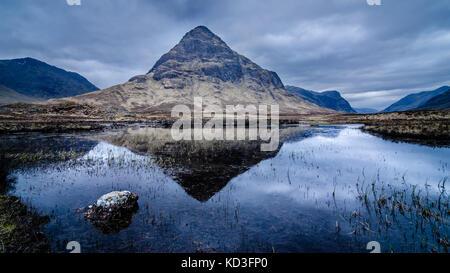 Buachille Etive Beag Glencoe Scotland - Stock Photo
