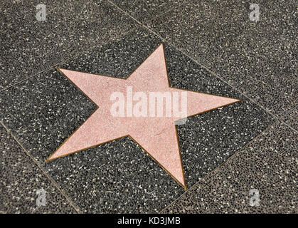blank star hollywood walk of fame hollywood boulevard