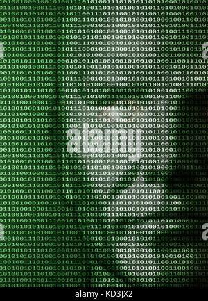 symbolic image: digitization, AI/ Artificial Intelligence, singularity, immortality, cyberpace. - Stock Photo
