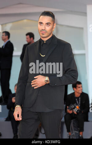 42nd Toronto International Film Festival - 'La Fidele' - Premiere  Featuring: Marracash Where: Venice, Italy When: - Stock Photo