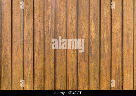 Natural wood texture for background brown with grooves - Stock Photo