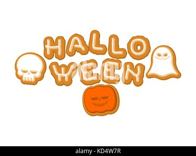 Happy Halloween Lettering. White letters on Black textured Stock ...