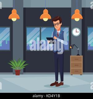 Business people cartoon - Stock Photo