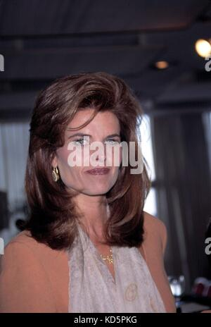 Maria Shriver attending the 1995 Kennedy Foundation Awards at the United Nations, New York City. June 30, 1995. - Stock Photo