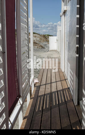 View of a bar in a beach - Stock Photo