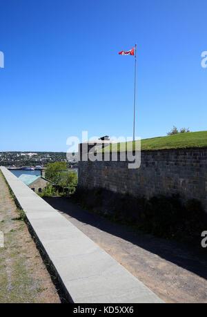 Citadel in Québec City, Canada - Stock Photo