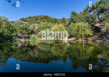 twin lakes izmir - Stock Photo