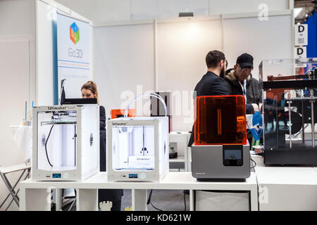 3d printers Ultimaker iGo3D on exhibition Cebit 2017 in Hannover Messe, Germany - Stock Photo