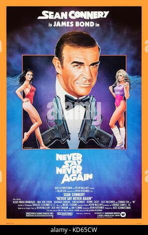 Never Say Never Again (1983) directed by Irvin Kershner and starring Sean Connery, Kim Basinger, Klaus Maria Brandauer - Stock Photo