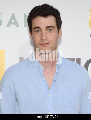 Hollywood, USA. 09th Oct, 2017. Levi Fiehler arrives at the Los Angeles Premiere of National Geographic Documentary - Stock Photo