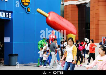 Chongqin, Chongqin, China. 10th Oct, 2017. Chongqing, CHINA-10th October 2017: (EDITORIAL USE ONLY. CHINA OUT).A - Stock Photo