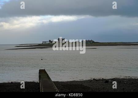 Piel Island near Barrow-in-Furness Cumbria - Stock Photo