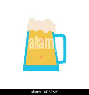 Simple Beer Pitcher - Stock Photo